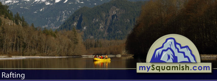 Rafting in Squamish