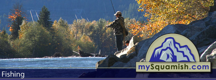 Squamish fishing