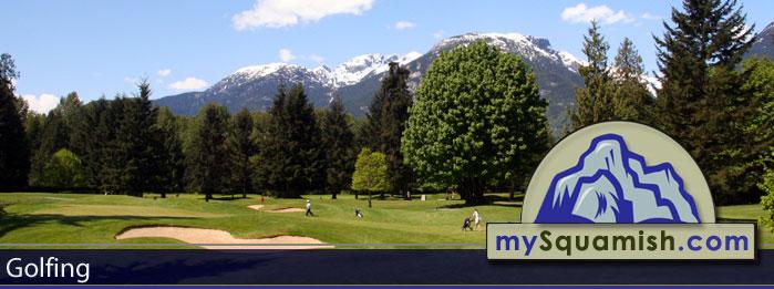 Golfing in Squamish