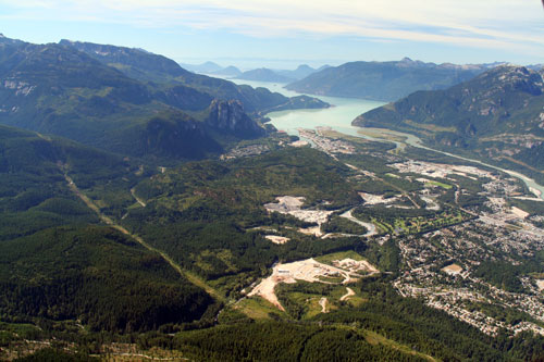 Squamish from the Air